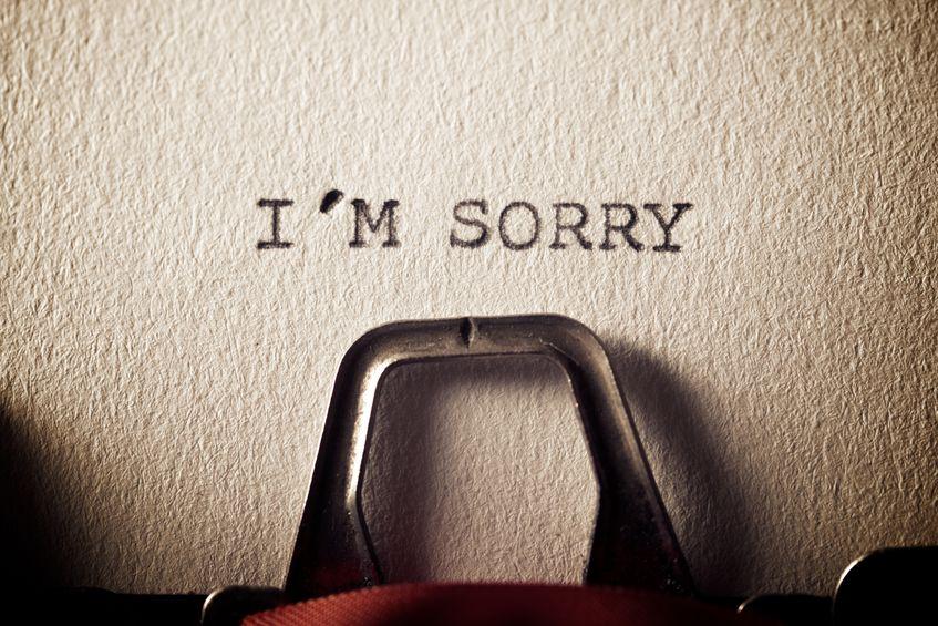 申し訳 急かし ありません しまい て